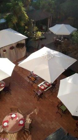 Hotel Teranga: Vista desde la habitación