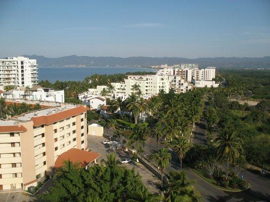 Dreams Villamagna Nuevo Vallarta : View from the top floor garden view, far from the elevator