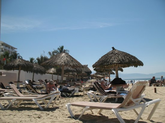 Dreams Villamagna Nuevo Vallarta : On the beach!