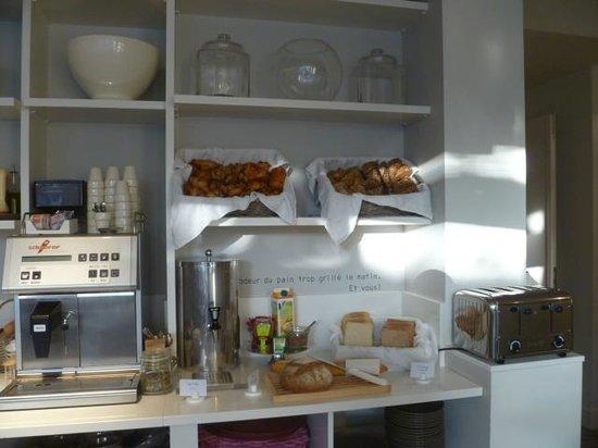 Made in Louise: Breakfast area