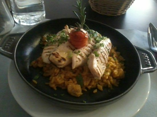La P'tite Cocotte : chicken with rice