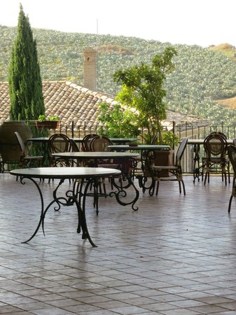 "Agriturismo Gigliotto: View of / from ""our wine terrace""... you must spend your afternoon here"