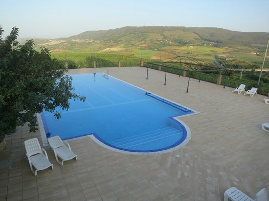 """Agriturismo Gigliotto: """"Postcard"""" views even from the pool terrace"""