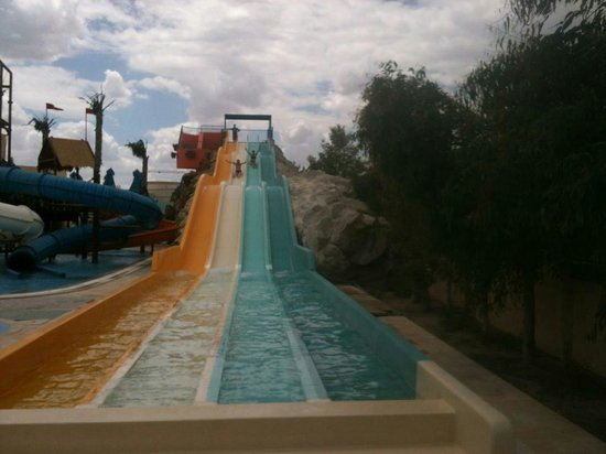 Medina Belisaire & Thalasso : One of TWO adult slides at Aqualand.