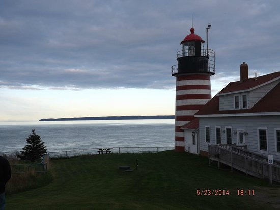 West Quoddy Head Light: Beautiful lighthouse