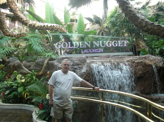 Golden Nugget Laughlin : hubby