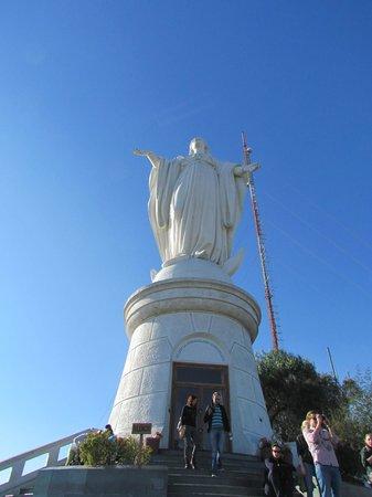 Parque Metropolitano: Imagem da Inmaculada Concepción