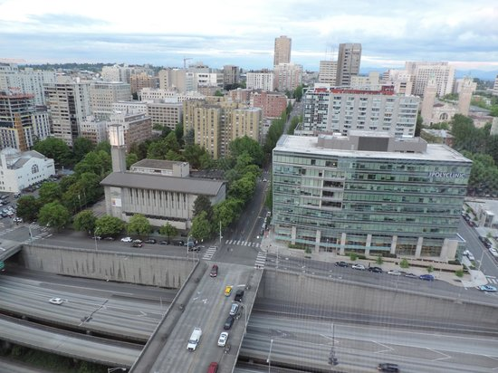 Renaissance Seattle Hotel: View from our room on 23 rd Floor