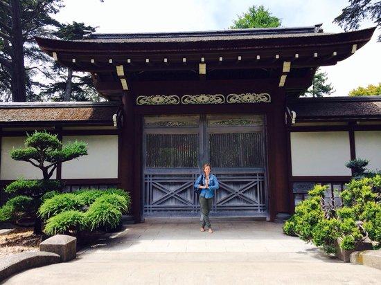 Japanese Tea Garden: One of the gates