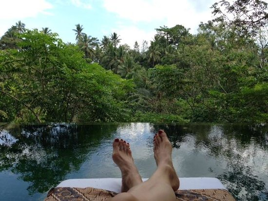Komaneka at Bisma : Chilling overlooking private infinity pool