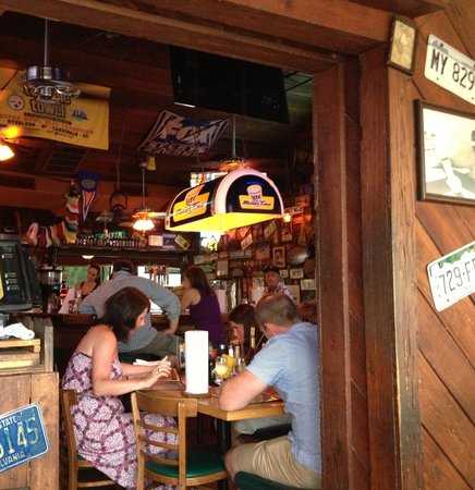 Cooters Restaurant & Bar : Inside funky Cooters