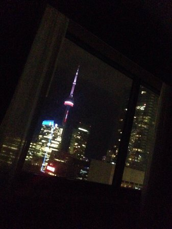 Sheraton Centre Toronto Hotel: View from room 3538