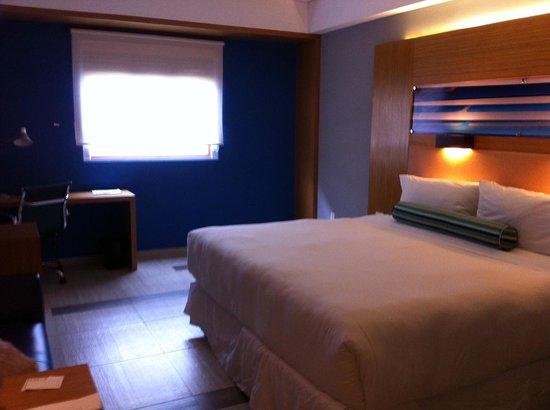 Aloft Cancun: Mi cuarto sí se parecía a las fotos del sitio web