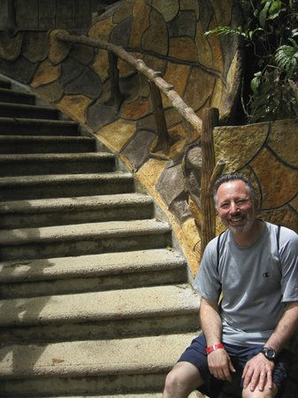 Catarata La Fortuna: After the recent rebuild of the steps