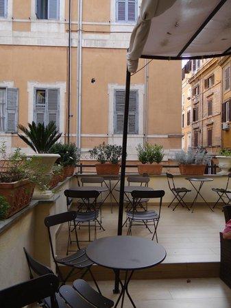 Suite Little Queen: Corner of the terrace