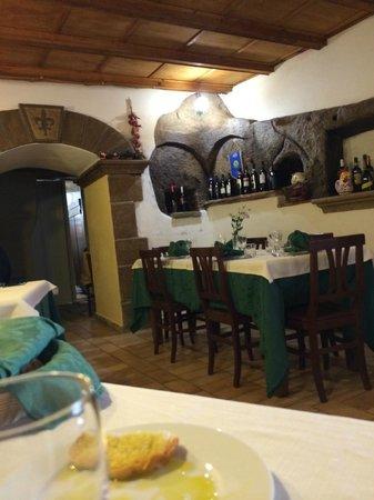 La Taverna dei Briganti: Locale interno