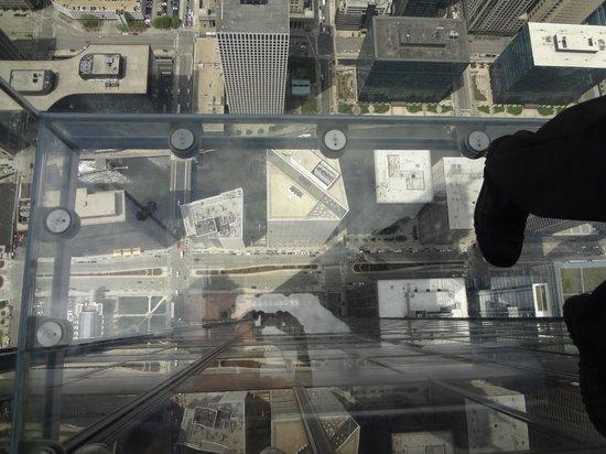 Skydeck Chicago - Willis Tower: vista desde el Skydeck