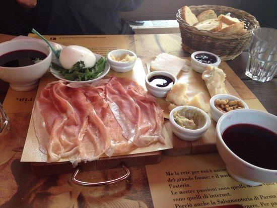 Salsamenteria di Parma: Best lunch ever!