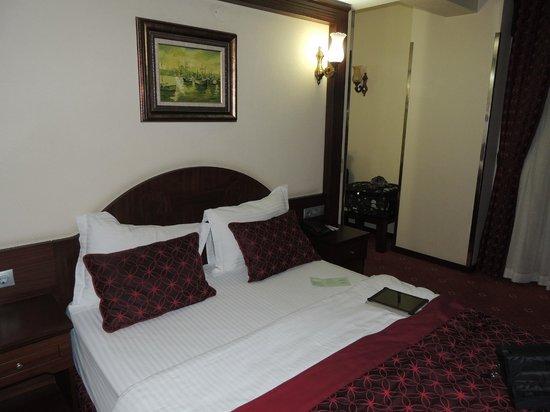 Gulhane Park Hotel : vista de la habitación de la esquina