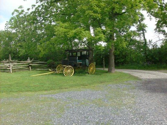 Battlefield Bed and Breakfast Inn: B&B Grounds