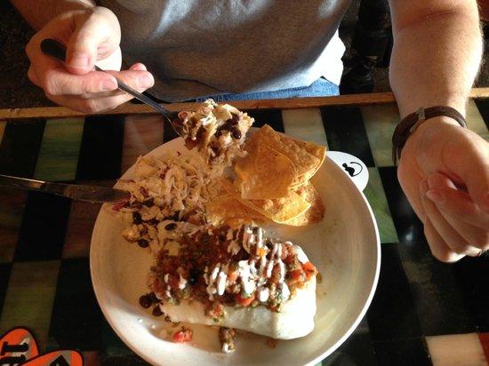 """Black Cat Burrito : """"Don't Be A Jerk"""" Burrito"""