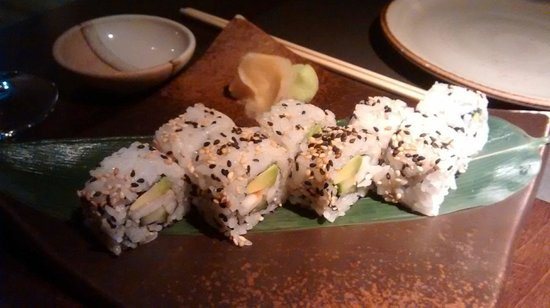 19 Sushi Bar: California rolls
