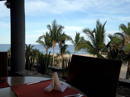 """Melia Cabo Real All-Inclusive Beach & Golf Resort: View from """"La Palapa"""""""