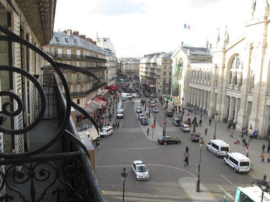 Ibis Paris Gare du Nord: vista desde el balcon de mi habitación