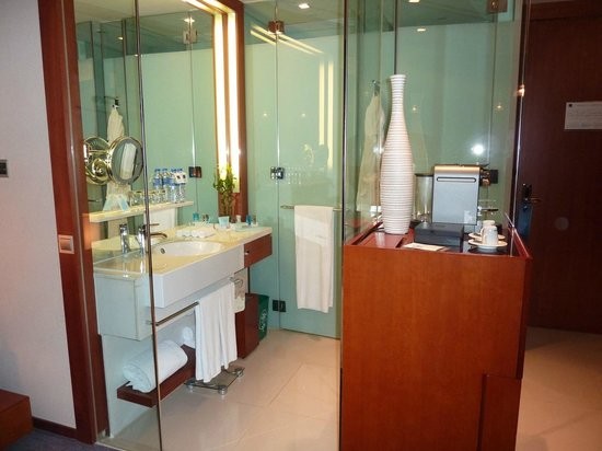 Novotel Citygate Hong Kong: Tiny bathroom on my second and third stay