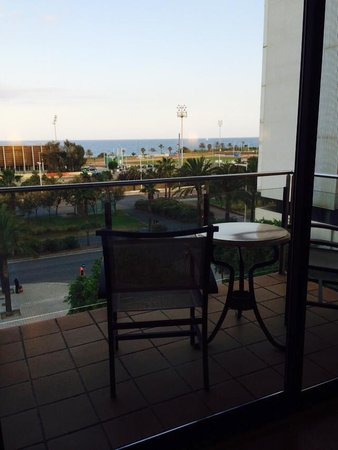 Hesperia Del Mar: 10 Euros extra a night got this lovely balcony with a ocean view