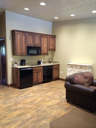 Cable Mountain Lodge : Kitchenette