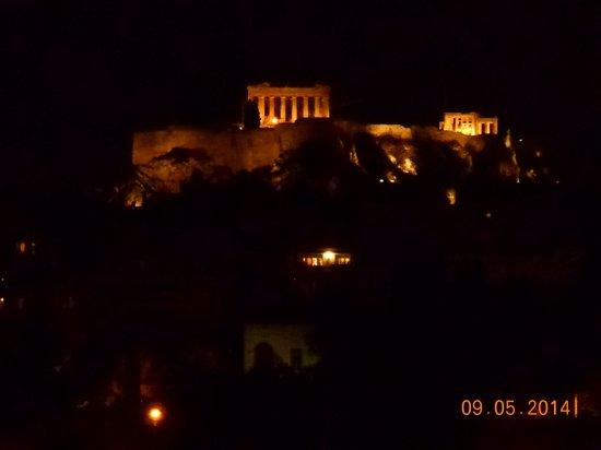 Hilton Athens: vista desde la habitación
