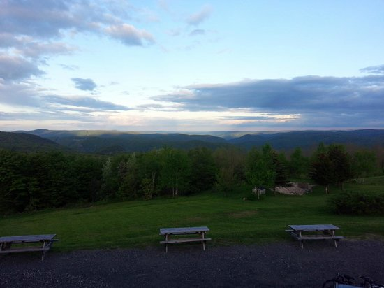 Whitcomb Summit Retreat : The view from our room.