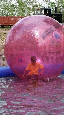 Miner's Maze Adventureland: Bubble attraction