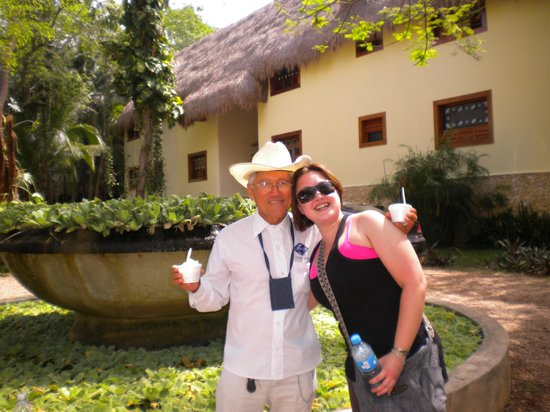 Hotel Hacienda Uxmal Plantation & Museum: Jorge the Awesome! (Our Uxmal Guide)
