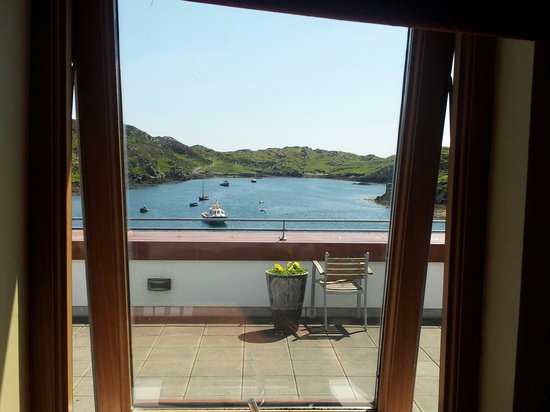 Inishbofin House Hotel & Marine Spa: Sea view