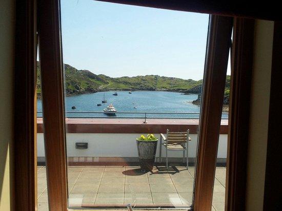 Inishbofin House Hotel & Marine Spa: Sea view