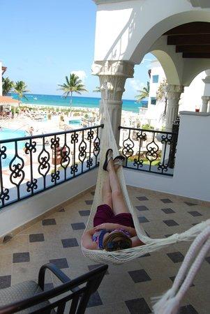 The Royal Playa del Carmen: Room 251 balcony view.