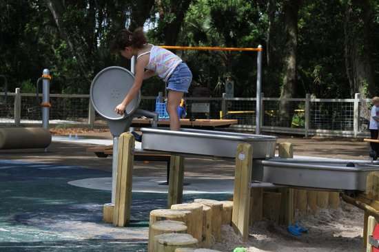 Pirate Playground: water feature