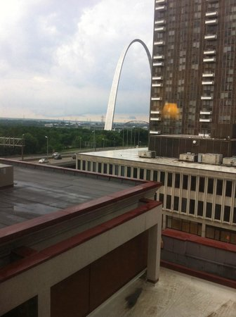 Hampton Inn - St. Louis Downtown at the Gateway Arch: View from 714