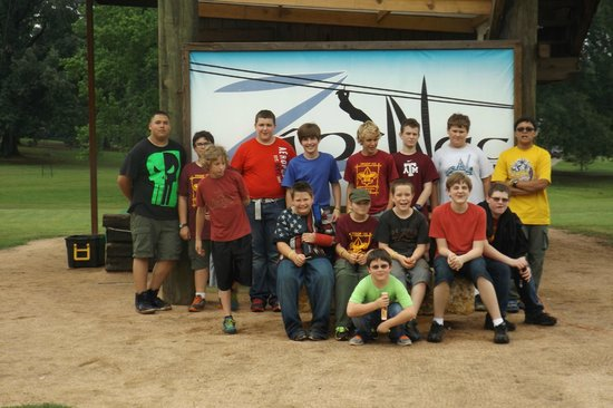 Zip Nac: Troop 105 having a great time