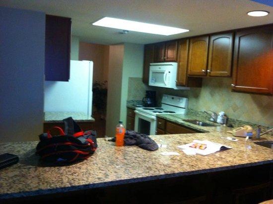 Princess Royale Resort: kitchen 2bdrm suite 10th flr