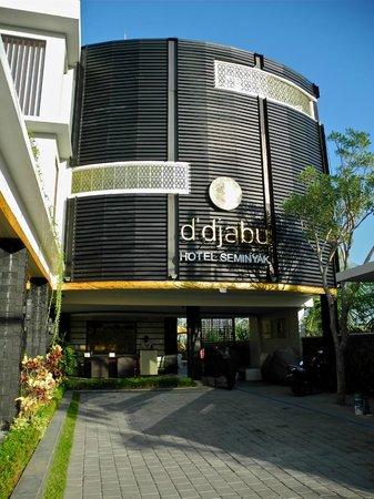 D'Djabu Hotel: d'djabu entrance