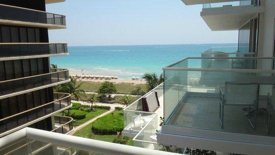 Grand Beach Hotel Surfside: Desde el balcon del 5° piso