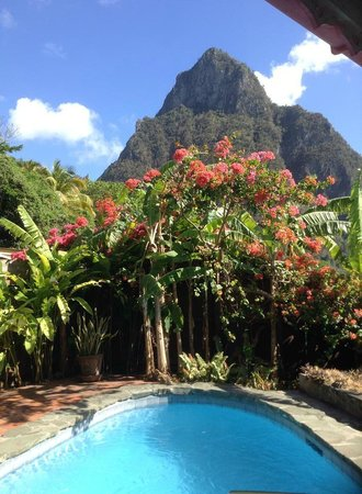 Stonefield Villa Resort : Villa View