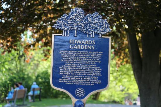 Photo of Edwards Gardens taken with TripAdvisor City Guides