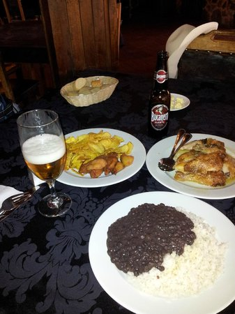 El Aljibe : Almoço