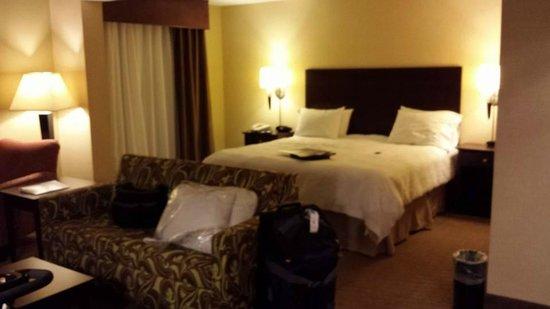 Hampton Inn Staunton: COMFORTABLE bed!