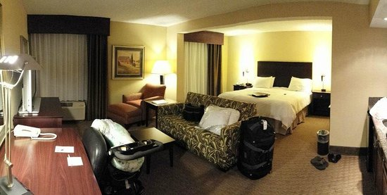 Hampton Inn Staunton: Plenty room for a comfortable, extended stay!