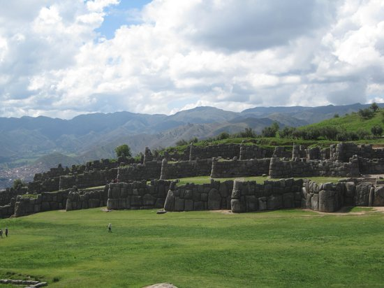Sacsayhuamán: Ancient terraces